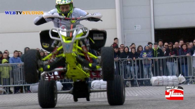 Acrobazie su due ruote  In scena a Roma Motodays
