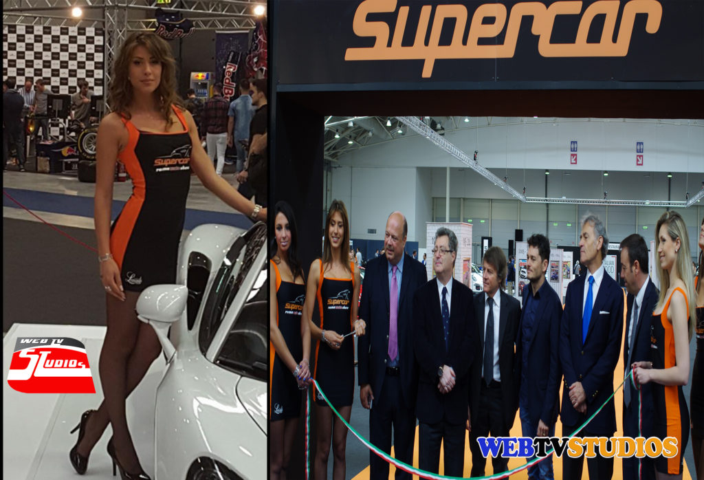 supercar roma show webtvstudios