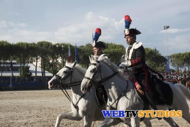 DSC 9378s 667x445 - Roma, Anniversario  dell'arma dei  carabinieri per i 203 anni dalla fondazione