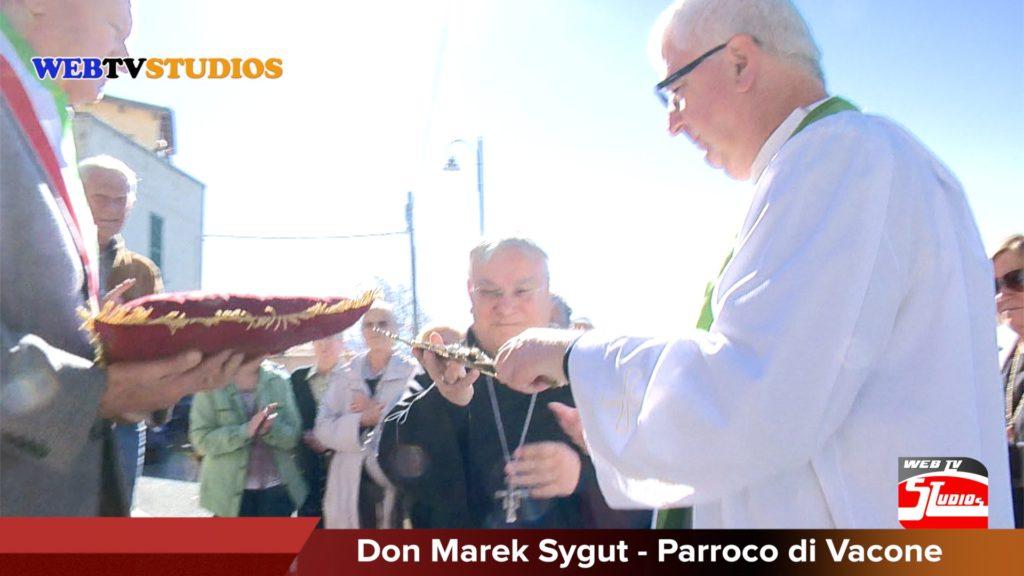 Insediamento Parroco di Vacone & il Vescovo-alt-tag