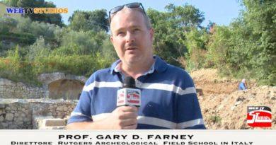 webtvstudios PROF. GARY D. FARNEY 390x205 - Dir.  Rutgers Archeological  Field School in Italy