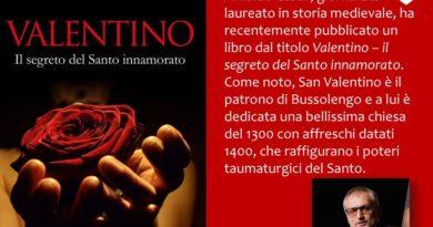webtvstudios VALENTINO IL SEGRETO DEL SANTO INNAMORATO 390x205 - ARNALDO CASALI - VALENTINO IL SEGRETO DEL SANTO INNAMORATO