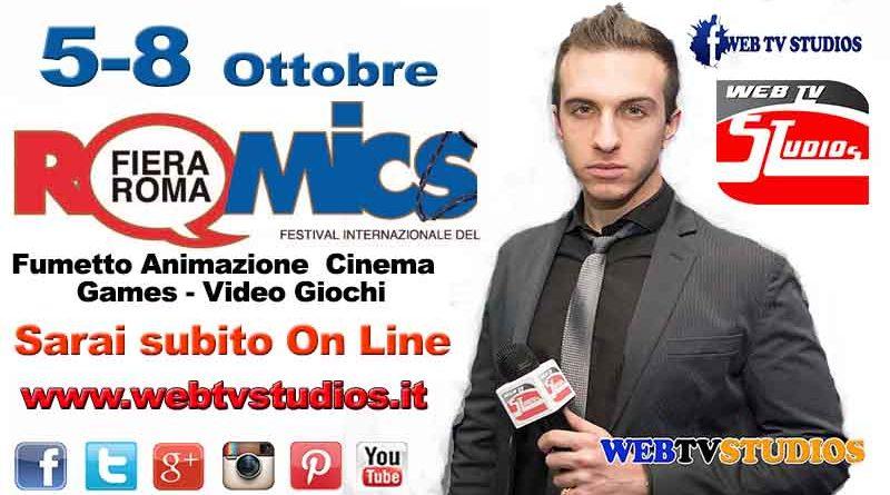 romics locandina simone 800x445 - FESTIVAL INTERNAZIONALE DEL FUMETTO, ANIMAZIONE, CINEMA E GAMES