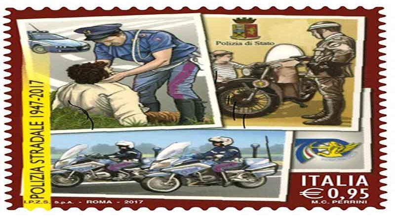 Roma, 70° della Polstrada un francobollo speciale