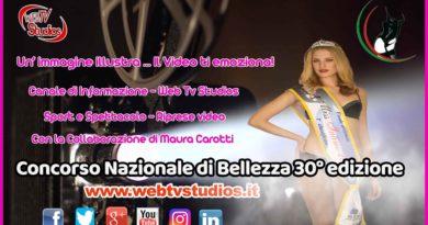 Concorso Nazionale di Bellezza 30° edizione con Riccardo Modesti