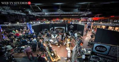 Motori, musica e spettacoli: torna a Roma 'Eternal City Motorcycle Custom Show'