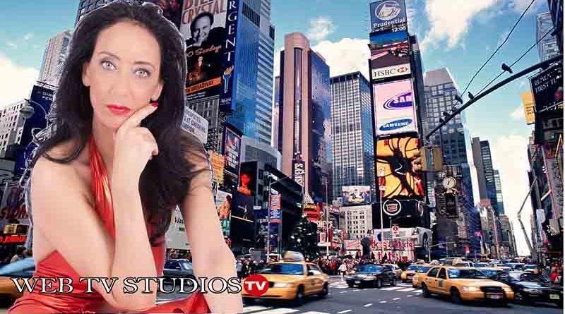 """Ester Campese in America, a Times Square, espone un suo inedito: """"El Matador"""""""