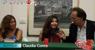"""Claudia Conte: """"Il Vino e le Rose""""  Il Libro di Denuncia Sociale"""