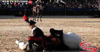 Roma: Cerimonia di fondazione dell'Arma dei Carabinieri: 204 anni, presso la Caserma Salvo D'acquisto
