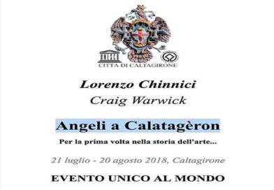 Caltagirone (Sicilia). 21 Luglio 2018 Angeli a Calatagèron Per la prima volta nella storia dell'arte…