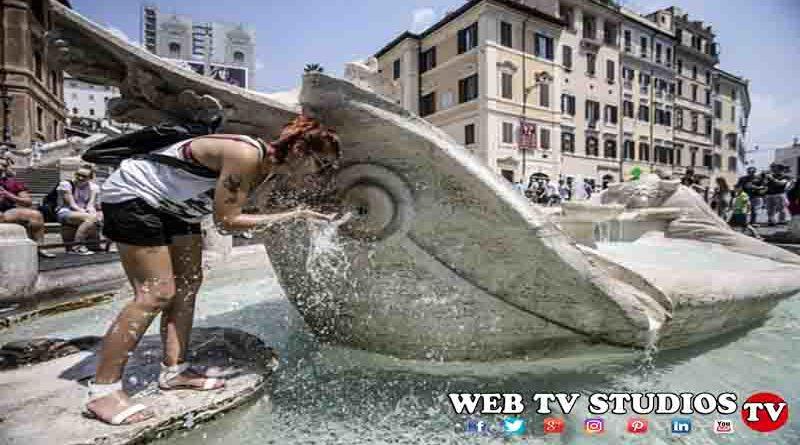 Caldo record  da bollino rosso in 18 città in Italia, è Temporali da venerdì
