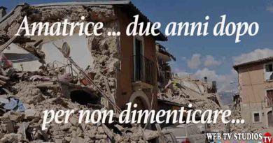 """Amatrice """" Luci e Ombre """" due anni dopo il terremoto"""