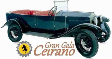 Il Gran Galà Cerano Raccoglierà Le origini della Fiat, della Lancia, della 500 & degli Arei Italiani