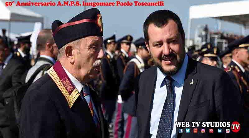 50° Anniversario ANPS lungomare Paolo Toscanelli
