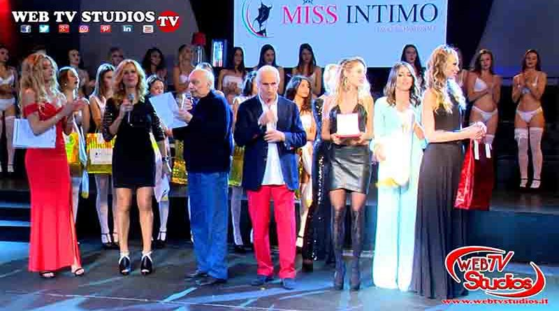 Miss Intimo 2018:la nuova reginetta del concorso Madalina Buga, 18 anni di Roma nella finale del Piper di Roma