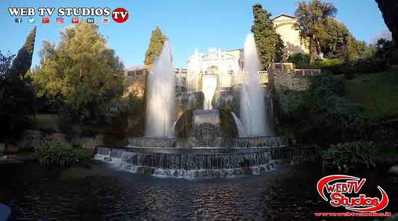 Tivoli Villa D'Este Giochi D'acqua