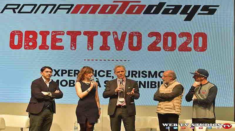 Roma Motodays Obiettivo 2020: Verso La Carta della Mobilità Sostenibile
