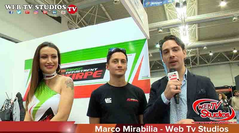 Roma Motodays 2019 con Davide Stirpe
