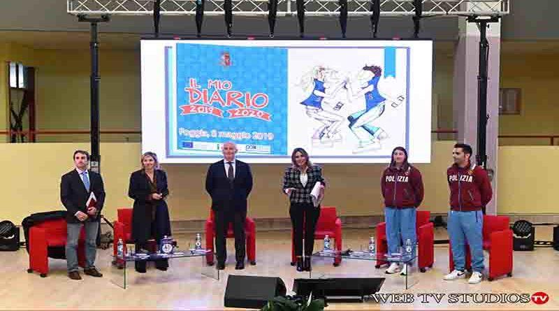 """Foggia: Presentata  l'agenda scolastica """"Il mio diario"""""""