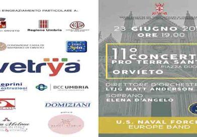 """Concerto Della Banda Musicale Della Nato  """"U.S.NAVAL FORCE-EUROPE BAND"""""""