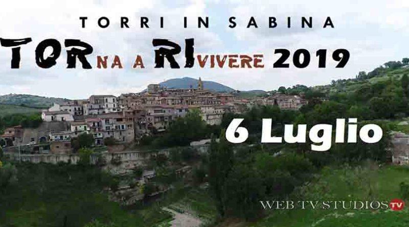 Torri in Sabina: Torna a Rivivere