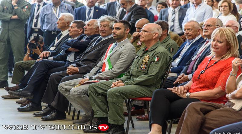 Cerimonia per il 70° anniversario dell'Aeronautica Militare a Pratica di Mare