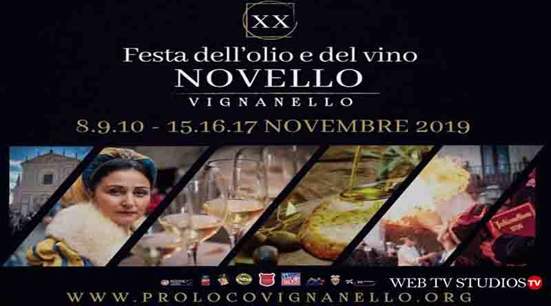 FESTA DELL'OLIO E DEL VINO NOVELLO DI VIGNANELLO: il programma dell'ultimo fine settimana (15-16-17 novembre)