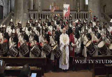 Arezzo: Il Gruppo Musici Della Giostra Del Saracinio Festeggia La Patrona Santa Cecilia