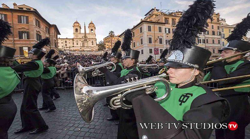 Roma: Parata Nuovo Anno Piazza del Popolo