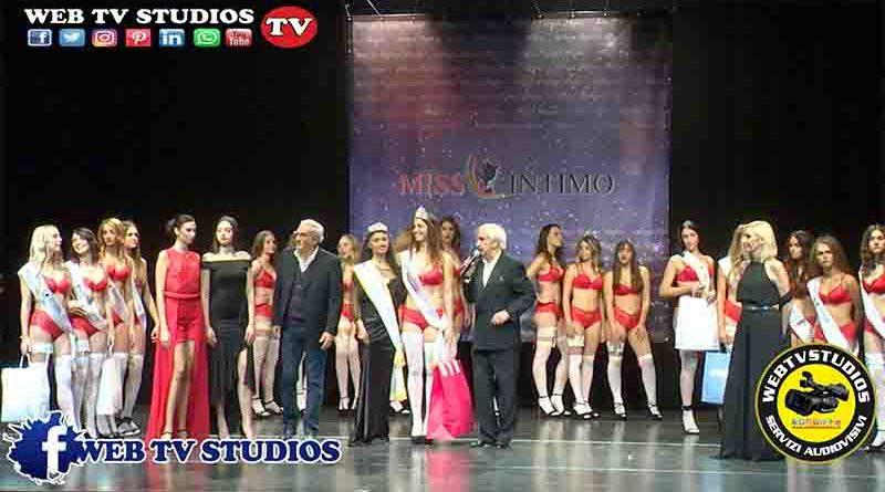 Al Teatro Ciak Di Roma Eletta La Nuova Miss Intimo 2019,  Giorgia Pepe  21 Anni  Di Roma, Insegnante Di Ginnastica Ritmica Vince La Finale 2019