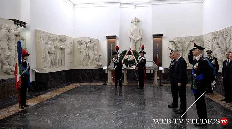 Cerimonia di fondazione dell'Arma dei Carabinieri 206° anni presso Museo Storico