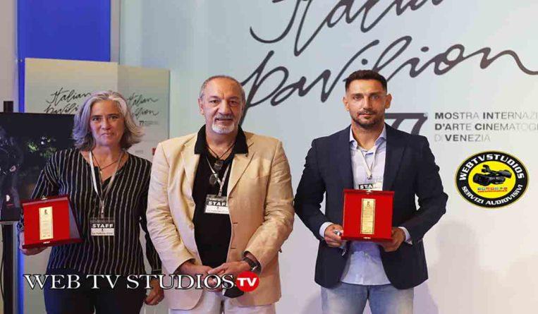 Si è tenuta con successo la IV edizione del premio collaterale de La Pellicola d'Oro alla 77° Mostra Internazionale d'Arte Cinematografica di Venezia