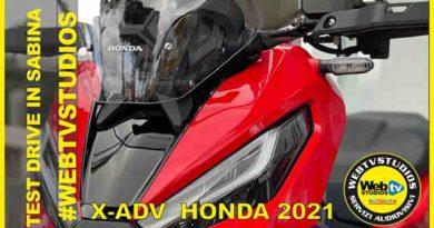 Test Driver per la Stampa con Andrea Perfetti in Sabina Honda Xadv 2021 ha fatto Centro