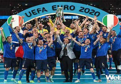 L'Italia batte l'Inghilterra ai rigori e vince gli Europei!
