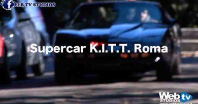 """SUPERCAR K.I.T.T."""" UN GIRO PER LA CAPITALE"""