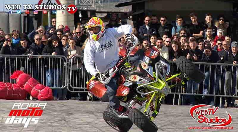 Roma Motodays con Stunt show  Full Team