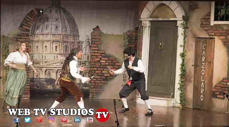 Grande Successo !!! Meo Patacca va in Convento Teatro Viganò Roma