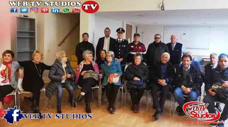 Commissariato Esquilino e il Presidente della Sezione di Roma dell'Associazione Nazionale della Polizia di Stato
