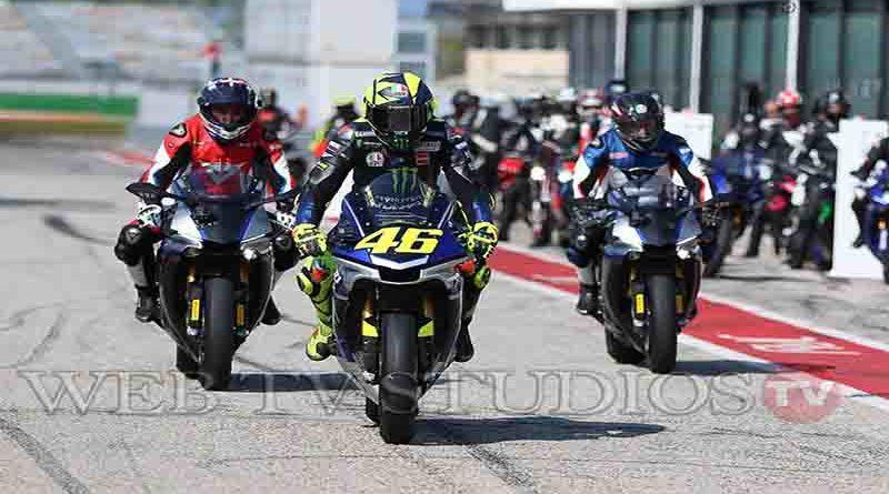 Misano: World Circuit   docente d'eccezione Valentino Rossi
