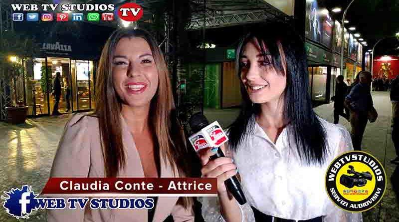 Festival del Cinema di Roma con Claudia Conte