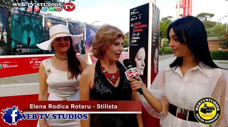 Festival del Cinema di Roma Elena Rodica Rotaru stilista internazionale