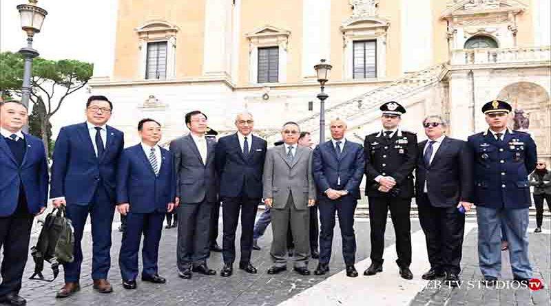 COOPERAZIONE INTERNAZIONALE DI POLIZIA – PATTUGLIAMENTI CONGIUNTI ITALIA – CINA