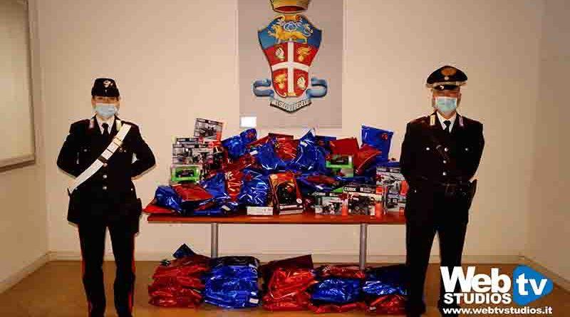 San Bonifacio Babbo Natale indossa la divisa: i carabinieri portano doni ai bimbi ricoverati al «Fracastoro»