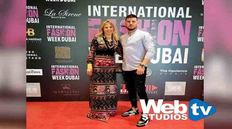 International Fashion Week Dubai 2020 con la Stilista internazionale Elena Rodica Rotaru