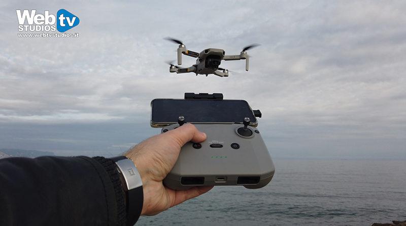 Drone Galleria Milano webtvstudios