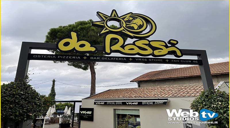Tavullia ( Pu) a casa di Valentino Rossi #vr46